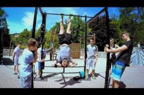 Honza Kaňůrek předával sílu workoutu ve Vsetíně