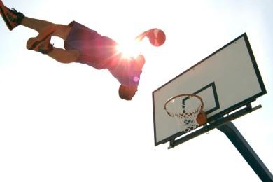 Basketbalový úlet a to doslova! :-o
