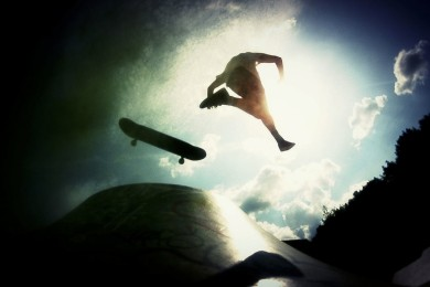Další suprově zpracované skateboardové video