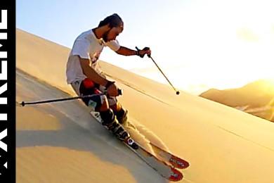 Lyžovačka na písku a to pořádná!