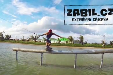 Rado Dubový a jeho wakeboarding až z Filipín