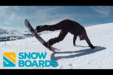 Škola snowboardingu zdarma od pravého zabijáka