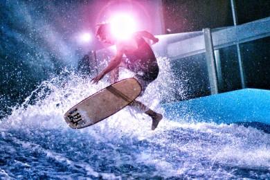 Surfing v baráku? No proč ne ;-)