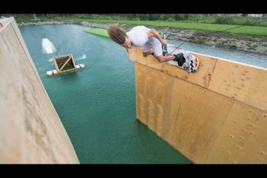 This is kurva WAKEBOARDING!!!