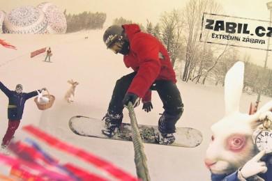 Na Velikonoce půl metru sněhu! No kdo by si to nepřál?! :-)