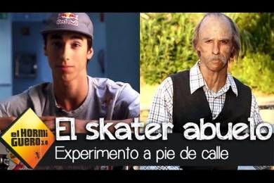 Skater převlečený za dědka aneb skrytá kamera jak má být :-D