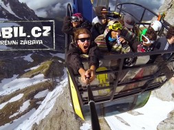 Výlet na ledovec Dachstein