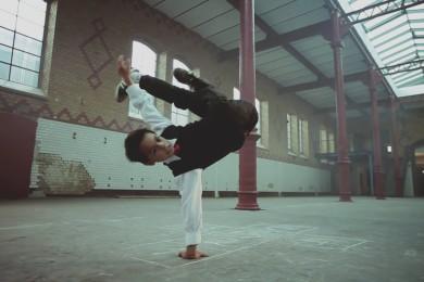Zázračné dítě aneb ukázka kvalitního breakdancingu