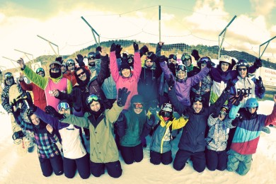 SNB and FREESKI Zabil.cz SWAG camp – Karolinka 2016