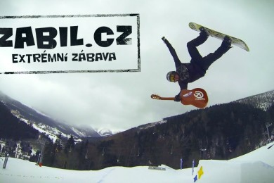 Honza Kaňůrek a jeho kytarový snowboardový edit