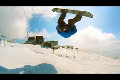 Honza Kaňůrek a jeho nový snowboardový edit z LAAXu