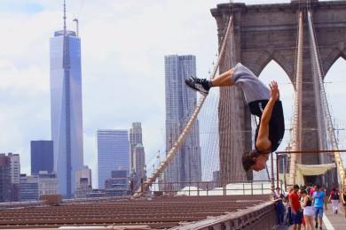 Jim Dohnal a jeho další splněný sen – Parkour v New Yorku