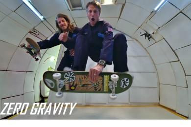 "Nulová gravitace, skatebording, Tony Hawk a Aaron ""Jaws"" Homoki"