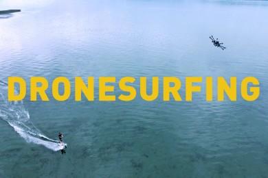 Nová doba aneb surfing za dronem!