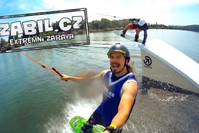 Honza Kaňůrek a jeho wakeboardové zabijačky