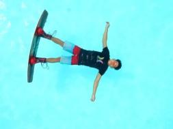 Patnáctiletý wakeboardový nakladač!