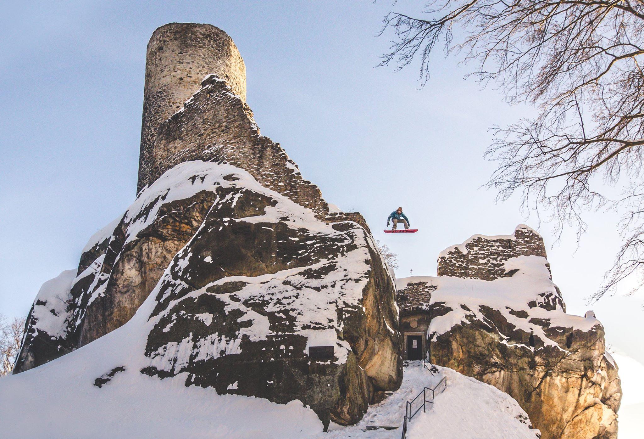 Ondra Bauer na hrad!