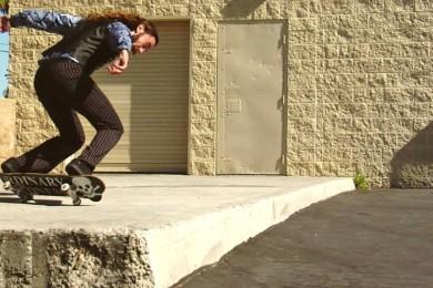 Richie Jackson a jeho tanec na skateboardu