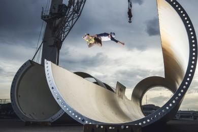 Velice pěkné místo pro skateboarding :-)