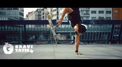 Honza Kaňůrek a jeho část z filmu Gravitation