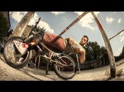 Parkour na kole :-o