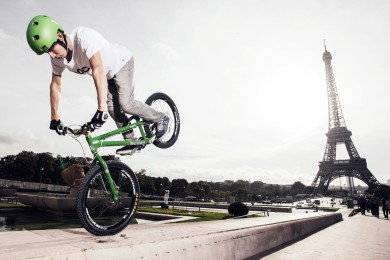 Paříží na kole