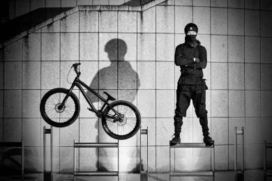 Ninja warrior na kole
