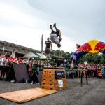 David Kašpárek na Czech Stunt Day v Ostravě.